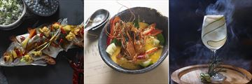 Anantara Chiang Mai Resort, Dining Options and Cocktail