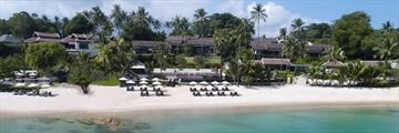 Anantara Lawana Koh Samui Resort, View from Beach