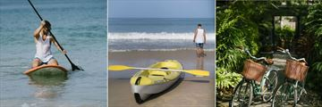 Anantara Layan Phuket Resort, Stand-Up Paddle, Kayak and Bikes