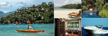 Anantara Maia Seychelles Villas, Watersports, Beach, Pool, Fishing and Gym