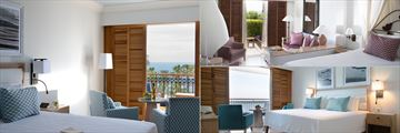 Panorama Sea View Room, Garden Studio and Karyatis Sea View Duplex Suite at Annabelle