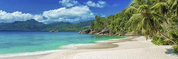 Anse Soleil Beach on Mahe Island