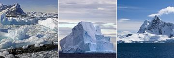 Antarctic landscapes & Drake's Passage