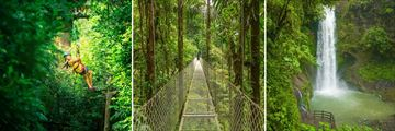 Experiences in the Arenal Rainforest, Costa Rica