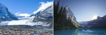 Athabasca Glacier & Lake Louise