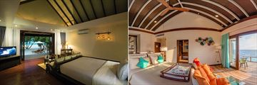 Beach Villa and Water Villa at Atmosphere Kanifushi