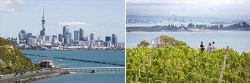 Auckland & Waiheke Island, North Island