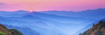 Autumn Sunrise over the Great Smoky Mountains
