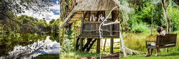 Avani Victoria Falls Resort, Pond, Bird Hide and Pond Swing