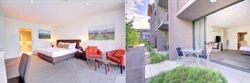 Balgownie Estate Vineyard Resort & Spa, Garden Terrace Interior and Terrace