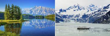 Banff National Park, Alberta & Glacier Bay in Alaska