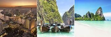 Bangkok, Phi Phi Island & Krabi scenery