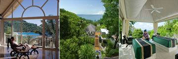 Banyan Tree, Seychelles, Spa Reception, Spa Exterior and Spa Couples Outdoor Treatment Area