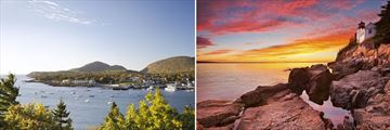 Bar Harbour & Acadia National Park