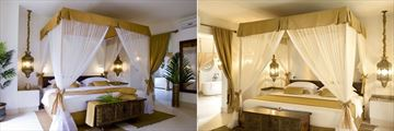 Villa Bedrooms at Baraza Resort & Spa