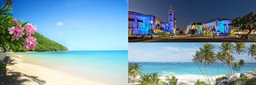 Barbados Beaches and Town Scape