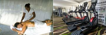 Beach Massage and Gym at Barcelo Aruba