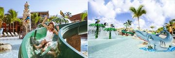 Barcelo Bavaro Palace, Water Slide and Pirates Island