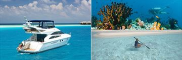 Activities at Baros Maldives