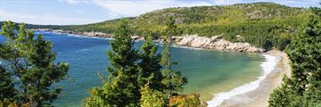 Acadia National Park's beautiful coastline