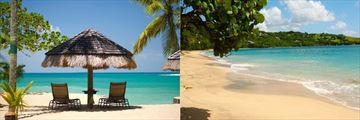 St Lucia and Bequia Beach Landscapes