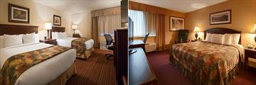 Best Western Merry Manor Inn, Two Queen Bed Room and King Bed Room