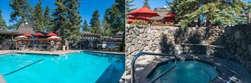 Pool and Hot Tub at Best Western Plus Station House