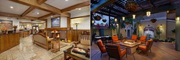 Best Western Sonoma Valley Inn, Lobby, Mission Suites Courtyard and Firepit