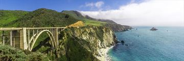 Bixby Bridge on the Californian Coastline