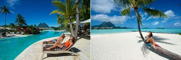 Bora Bora Pearl Beach Resort, Main Pool and Beach