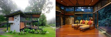 Borneo Rainforest Lodge, Double Storey Premium Villa and Lounge
