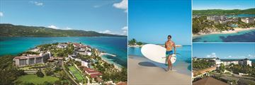 Breathless Montego Bay, Aerial View, Standup Paddleboarding, Aerial View and Bridge Linking to Secrets Resort