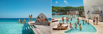Breathless Montego Bay, Altitude Rooftop Infinity Pool and Freestyle Swim-Up Bar and Main Pool
