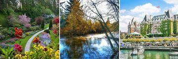 Victoria's beautiful attractions, British Columbia