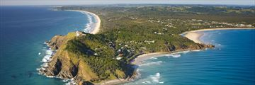 Aerial View of Byron Bay Hotel and Apartments