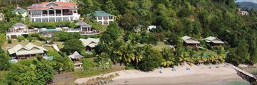 Calabash Cove, Aerial View of Hotel