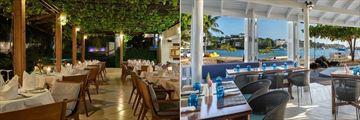 Calabash Luxury Boutique Hotel & Spa, Rhodes Restaurant and Beach Club