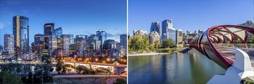 Beautiful cityscapes of Calgary