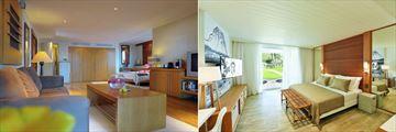 Canonnier Beachcomber Golf Resort & Spa, Suite and Superior Garden Room