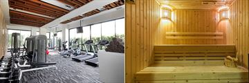 Cape Nidhra, Fitness Centre and Sauna