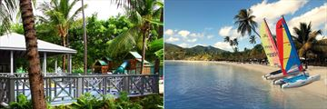 Kids' Club Exterior and Watersports at Carlisle Bay