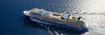 Celebrity Equinox aerial view at sea