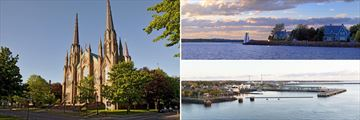 Charlottestown Church & Waterfront and Prince Edward Island