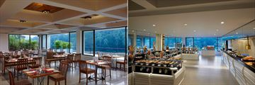 Cinnamon Citadel Kandy, Panorama Restaurant Interior and Buffet