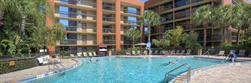 Rosen Inn at Lake Buena Vista, Exterior and Pool
