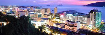 Kota Kinabalu cityscape