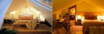 Luxury Tent and En-Suite Tent at Clayoquot Wilderness Resort