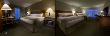 Superior King and Superior Queen-Queen Rooms at Coast Capri Hotel Kelowna