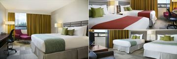 Coast Inn of the North, (clockwise from left): Superior King Room, Superior Twin Room and Comfort Twin Room