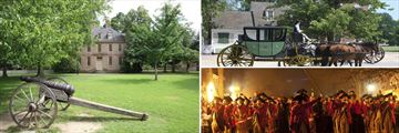 Historic Sights in Colonial Williamsburg, Virginia